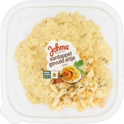 Johma Aardappel gevuld eitje salade