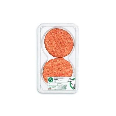 Huismerk runderhamburgers 2 stuks