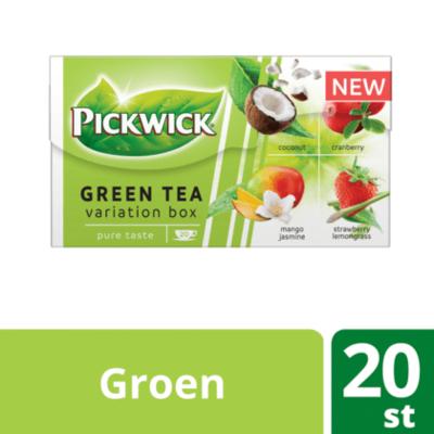 Pickwick Green variatiebox groene thee