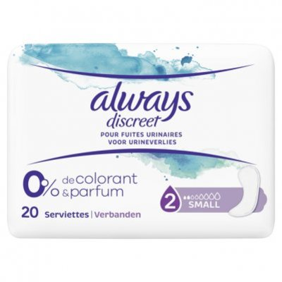 Always Discreet pads 0% small single pack