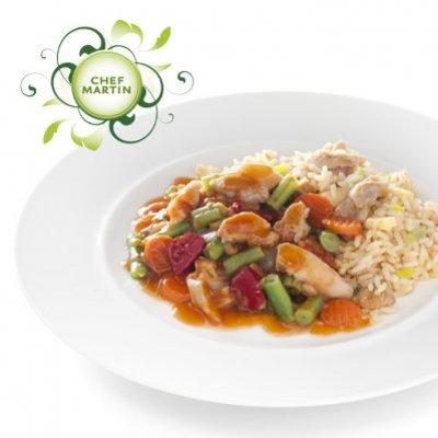 Chef Martin Chinese wokschotel groenten-kip