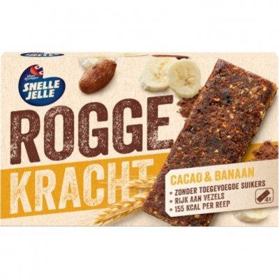 Snelle Jelle Roggekracht cacao & banaan fruitreep