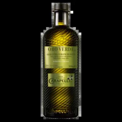 Carapelli Oro Verde Extra Olijfolie van de Eerste Persing