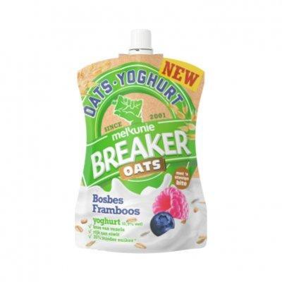 Melkunie Breaker oats framboos bosbes