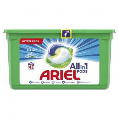 Ariel Allin1 pods alpine wasmiddelcapsules