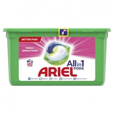 Ariel Allin1 pods fris roze wasmiddelcapsules