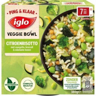 Iglo Ping&Klaar Veggie Bowl Citroenrisotto
