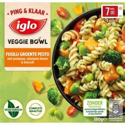 Iglo Ping&Klaar Veggie Bowl Fusilli Pesto