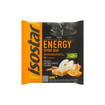 Isostar Energy Sport Bar Cereals and Multifruits Flavour