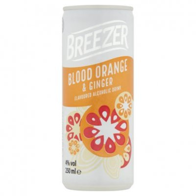 Bacardi Breezer blood orange & ginger