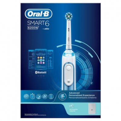Oral-B Smart 6 6200w blue elekt tandenborstel
