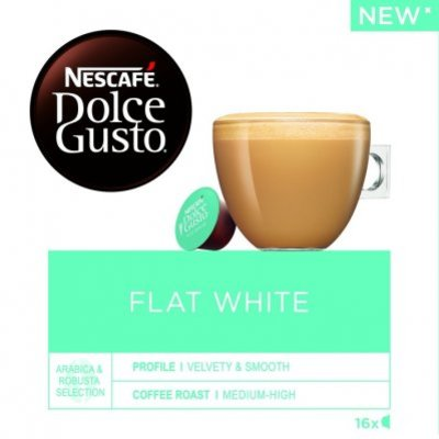 Nescafé Dolce Gusto Flat white koffie cups