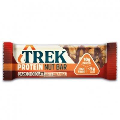 Trek Protein nut bar dark chocolate & orange