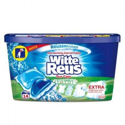Witte Reus duo-caps wascapsules