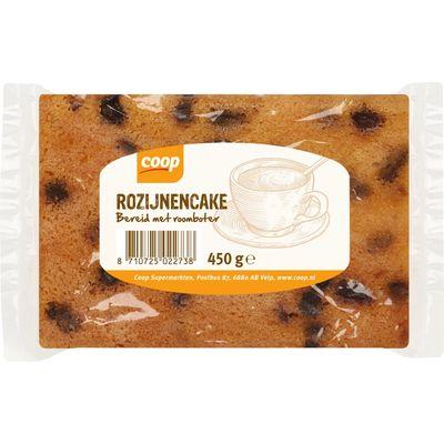 Roomboter Rozijnencake