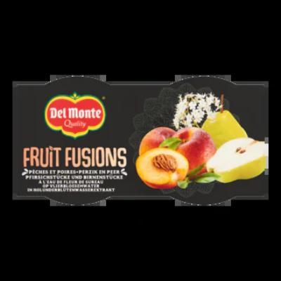 Del Monte Fruit Fusions Perzik en Peer op Vlierbloesemwater