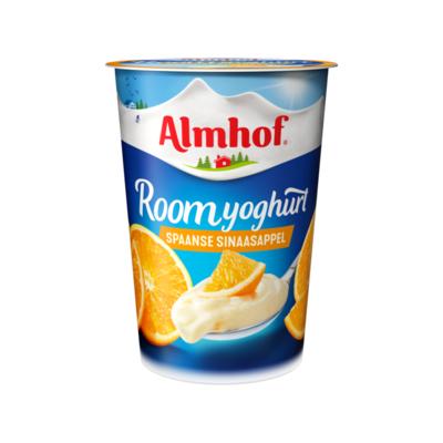 Almhof Roomyoghurt Spaanse Sinaasappel