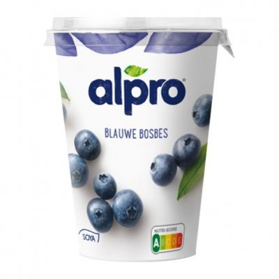 Alpro Plantaardige variatie op yoghurt bosbes