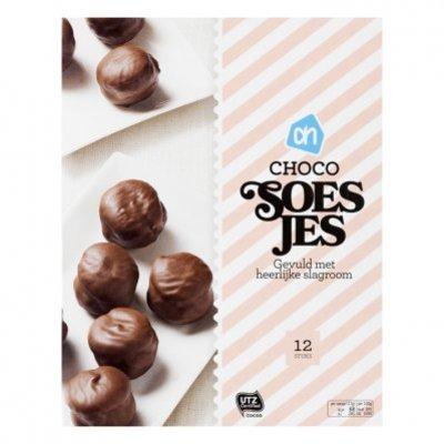 Huismerk Mini moorkopsoesjes chocolade