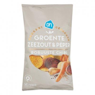 Huismerk Groentechips zeezout & pepper