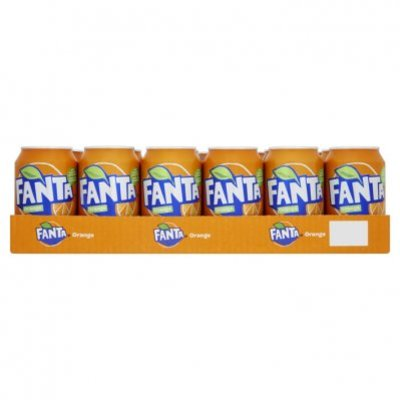 Fanta Orange tray