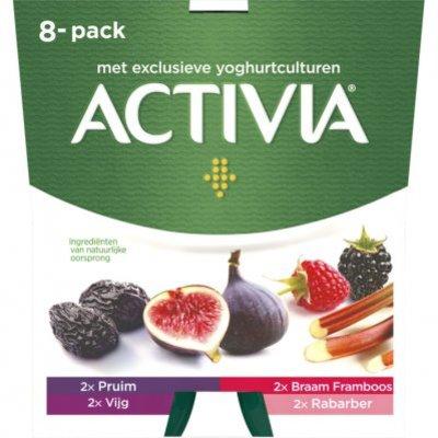 Activia 8-pack Fruit assorti