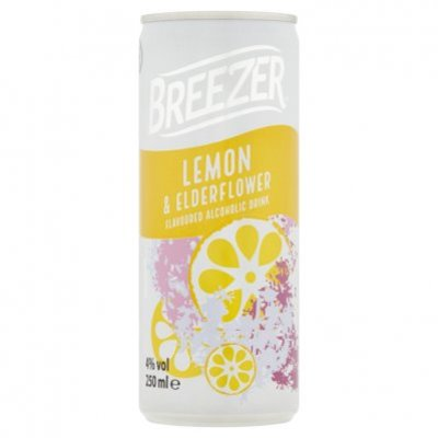 Bacardi Breezer lemon & elderflower