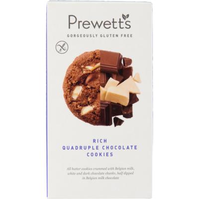 Prewetts Chocolate cookies quadruple