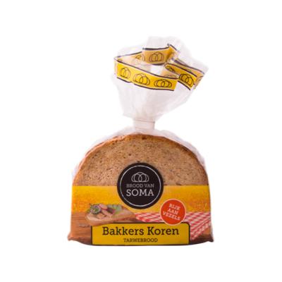 Brood van Soma Bakkers Koren Tarwebrood