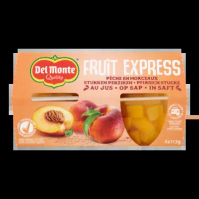 Del Monte Fruit Express Stukken Perziken op Sap