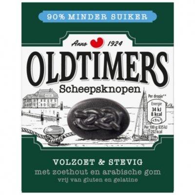 Oldtimers Scheepsknopen 90% minder suiker