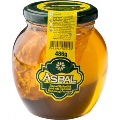 Asbal Honey- Syrup with comb honey