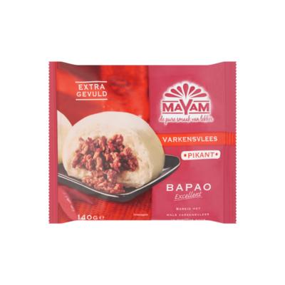 Mayam Varkensvlees Pikant Bapao Excellent