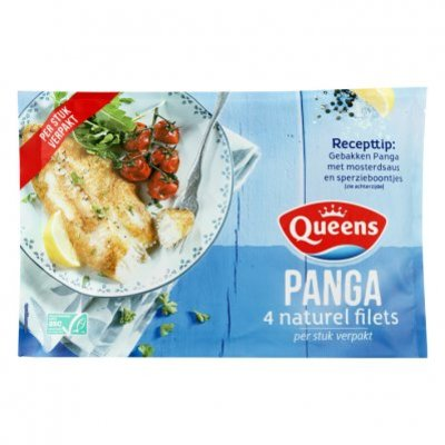 Queens Panga naturel filets