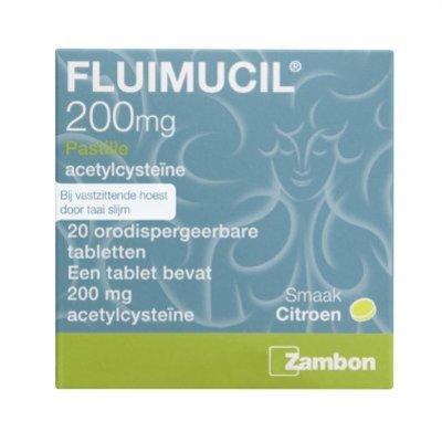 Fluimucil Pastille tabletten