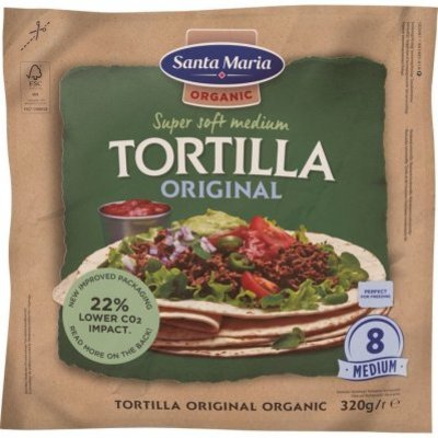 Santa Maria Organic original tortilla
