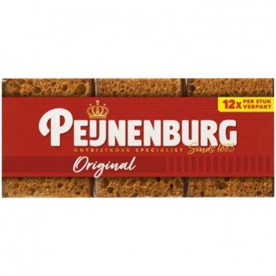 Peijnenburg Ontbijtkoek naturel portieverpakking