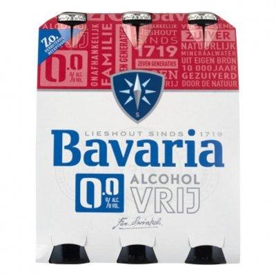 Bavaria 0.0% alcoholvrij bier 6-pack fles