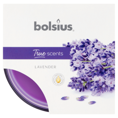 Bolsius Geurglas medium true scents lavendel