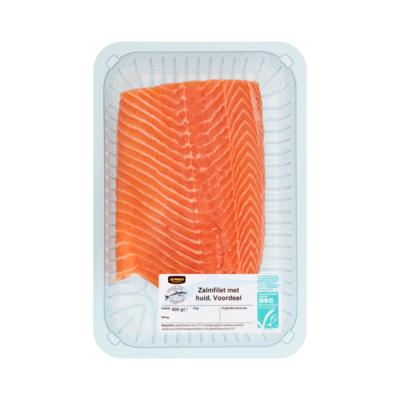 Huismerk Verse Vis Vismarkt Zalmfilet met Huid Voordeel