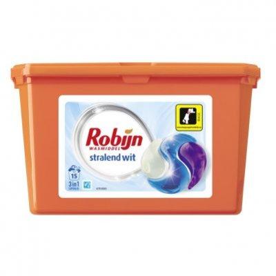 Robijn 3-in-1 capsules stralend wit