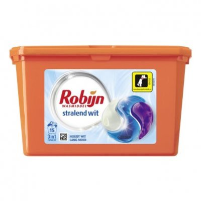 Robijn 3-in-1 capsules stralend wit
