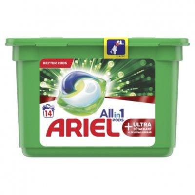 Ariel Allin1 pods+ ultra wasmiddelcapsules