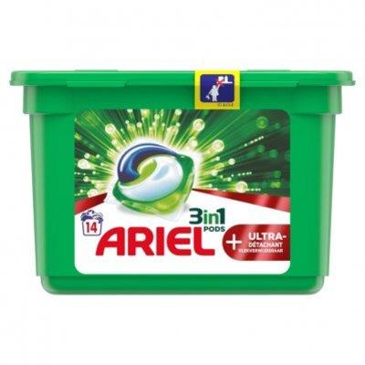 Ariel Pods+ ultra wasmiddelcapsules