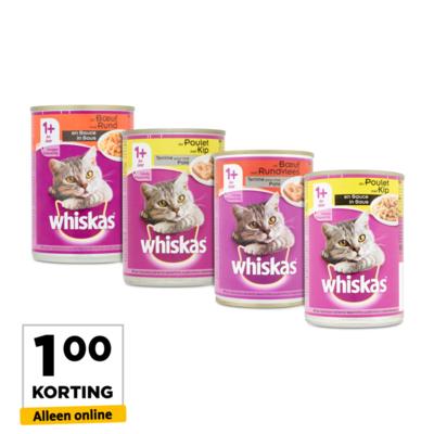 Whiskas Variatie Pakket
