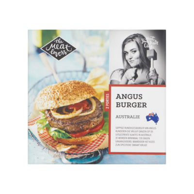 The Meat Lovers Angus Burger Australie