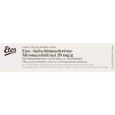 Antischimmelcreme Miconazolnitraat
