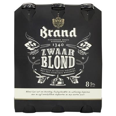 Brand Bier Zwaar Blond 6X30CL